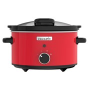 Crock-pot 3.5l Slow Cooker Stainless Steel Red (CSC037)